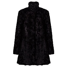 Buy John Lewis Astrakan Faux Fur Swing Coat Online at johnlewis.com
