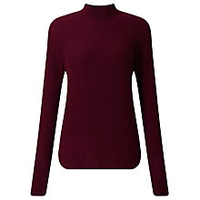 Buy Collection WEEKEND by John Lewis Funnel Neck Cashmere Jumper Online at johnlewis.com
