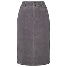 Buy Collection WEEKEND by John Lewis Kerris Cord Pencil Skirt, Grey Online at johnlewis.com
