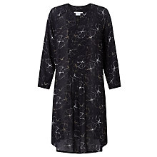 Buy Collection WEEKEND by John Lewis Flower Shadow Print Dress, Black Online at johnlewis.com