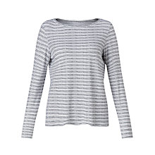 Buy John Lewis Long Sleeve Pebble Stripe Top Online at johnlewis.com