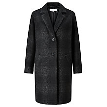 Buy Collection WEEKEND by John Lewis Moxie Wool Car Coat, Charcoal Online at johnlewis.com