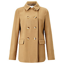 Buy John Lewis Double Breasted Pea Coat Online at johnlewis.com