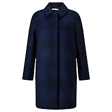 Buy Collection WEEKEND by John Lewis Cocoon Coat, Blue Online at johnlewis.com
