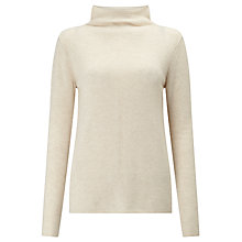 Buy John Lewis Funnel Neck Cashmere Jumper Online at johnlewis.com