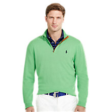 Buy Polo Golf by Ralph Lauren Long Sleeve Half Zip Pullover Online at johnlewis.com