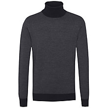 Buy Tommy Hilfiger Wool Roll Neck Sweater, Midnight Online at johnlewis.com
