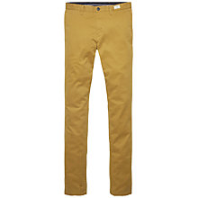 Buy Tommy Hilfiger Bleecker Chinos, Cumin/Snow White Online at johnlewis.com