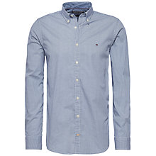 Buy Tommy Hilfiger Alexander Long Sleeve Shirt, Dutch Navy Online at johnlewis.com