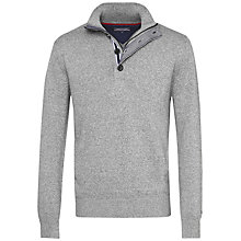 Buy Tommy Hilfiger Dosel Button Jumper, Silver Fog Online at johnlewis.com
