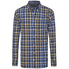 Buy Tommy Hilfiger Bastian Check Shirt, Blue/Yellow Online at johnlewis.com