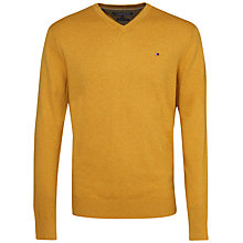 Buy Tommy Hilfiger Cashmere Cotton Jumper, Arrowwood Heather Online at johnlewis.com