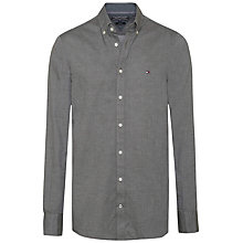 Buy Tommy Hilfiger Nate Twill Shirt, Cape Olive Online at johnlewis.com