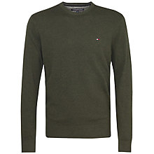 Buy Tommy Hilfiger Pima Cotton Cashmere Jumper Online at johnlewis.com