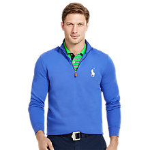 Buy Polo Golf by Ralph Lauren Long Sleeve Half Zip Sweatshirt Online at johnlewis.com
