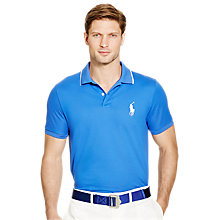 Buy Polo Golf Ralph Lauren Pro Fit Polo Shirt, New Periwinkle Online at johnlewis.com