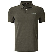 Buy Polo Golf by Ralph Lauren RLX Short Sleeve Pro Fit Polo Shirt Online at johnlewis.com
