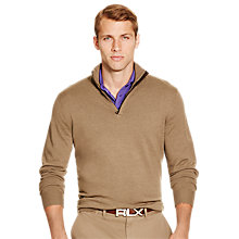 Buy Polo Golf by Ralph Lauren Half Zip Merino Wool Pullover Online at johnlewis.com