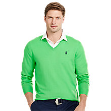 Buy Polo Golf by Ralph Lauren V-Neck Merino Pullover Online at johnlewis.com