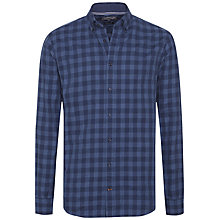 Buy Tommy Hilfiger Stein Check Shirt, Dutch Navy Online at johnlewis.com
