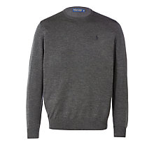 Buy Polo Golf by Ralph Lauren Merino Crew Neck Jumper Online at johnlewis.com