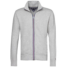 Buy Tommy Hilfiger Adrien Zip Through Jacket, Heather Online at johnlewis.com