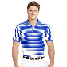 Buy Polo Golf by Ralph Lauren Slim Fit Stripe Polo Shirt Online at johnlewis.com