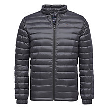 Buy Tommy Hilfiger Bob Jacket, Dark Shadow Online at johnlewis.com