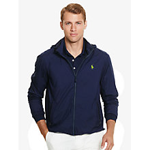 Buy Polo Golf by Ralph Lauren Packable Performance Water-Resistant Jacket, French Navy Online at johnlewis.com