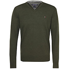 Buy Tommy Hilfiger Wool Blend V-Neck Sweater Online at johnlewis.com