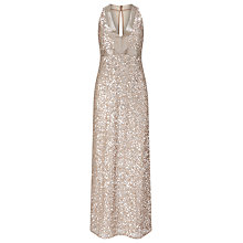 Buy Phase Eight Collection 8 Serina Sequin Dress, Champagne Online at johnlewis.com