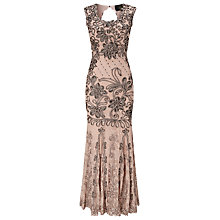 Buy Phase Eight Barbara Tapework Dress, Damask Online at johnlewis.com
