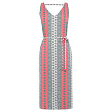Buy Oasis Sunshine Paisley Dress, Coral Online at johnlewis.com