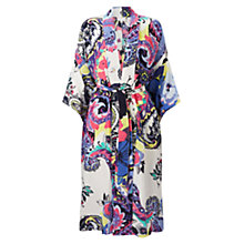 Buy East Silk Nico Print Kimono, Multi Online at johnlewis.com