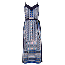 Buy Oasis Cancun Cami Dress, Navy Online at johnlewis.com
