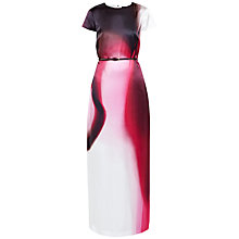Buy Ted Baker Dispersed Beauty Maxi Dress, Dusky Pink Online at johnlewis.com