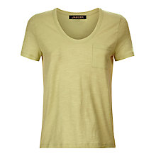 Buy Jaeger Cotton Short Sleeve T-Shirt Online at johnlewis.com