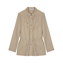 Buy Gerard Darel Veste Utility Jacket, Pink/Beige Online at johnlewis.com