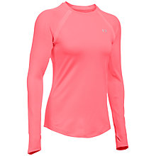 Buy Under Armour ColdGear Long Sleeve Top, Orange Online at johnlewis.com
