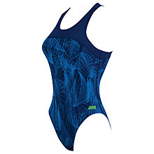 Buy Zoggs Concord Zip Back Swimsuit, Navy Online at johnlewis.com