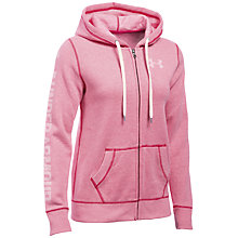 Buy Under Armour Favourite Fleece Full Zip Hoodie Online at johnlewis.com