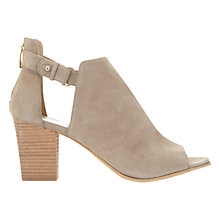 Buy Mint Velvet Cece Peep Toe Shoe Boots Online at johnlewis.com