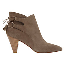 Buy Mint Velvet Rosa Tassel Ankle Boots, Taupe Online at johnlewis.com