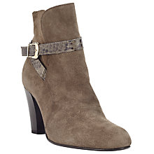 Buy John Lewis Pachelle Cone Heel Ankle Boots Online at johnlewis.com