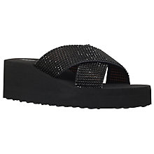 Buy Miss KG Delaney Wedge Heeled Slip On Sandals Online at johnlewis.com