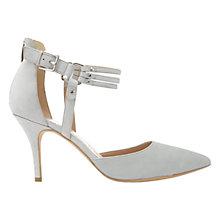 Buy Mint Velvet Heather Triple Strap Court Shoes Online at johnlewis.com