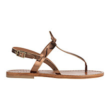 Buy Jigsaw Rio T-Bar Sandals Online at johnlewis.com