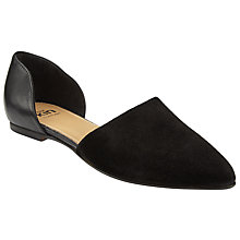 Buy Kin by John Lewis Hanna Two Part Pumps, Black Online at johnlewis.com