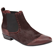 Buy Somerset by Alice Temperley Pibsbury Ankle Boots, Red Online at johnlewis.com