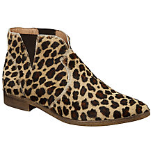Buy Collection WEEKEND by John Lewis Pablo Chelsea Ankle Boots, Leopard Online at johnlewis.com